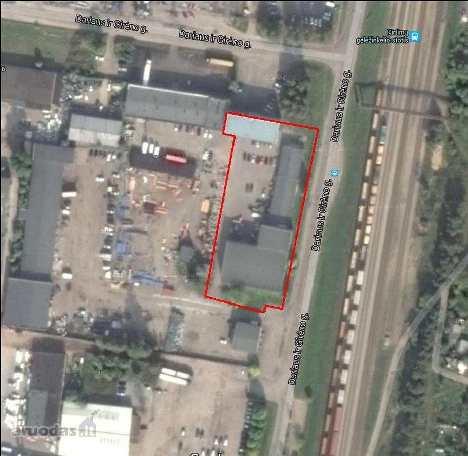 Vilnius, Kirtimai, Dariaus ir Girėno g., biuro, prekybinės, paslaugų, sandėliavimo, gamybinės, kita paskirties patalpos