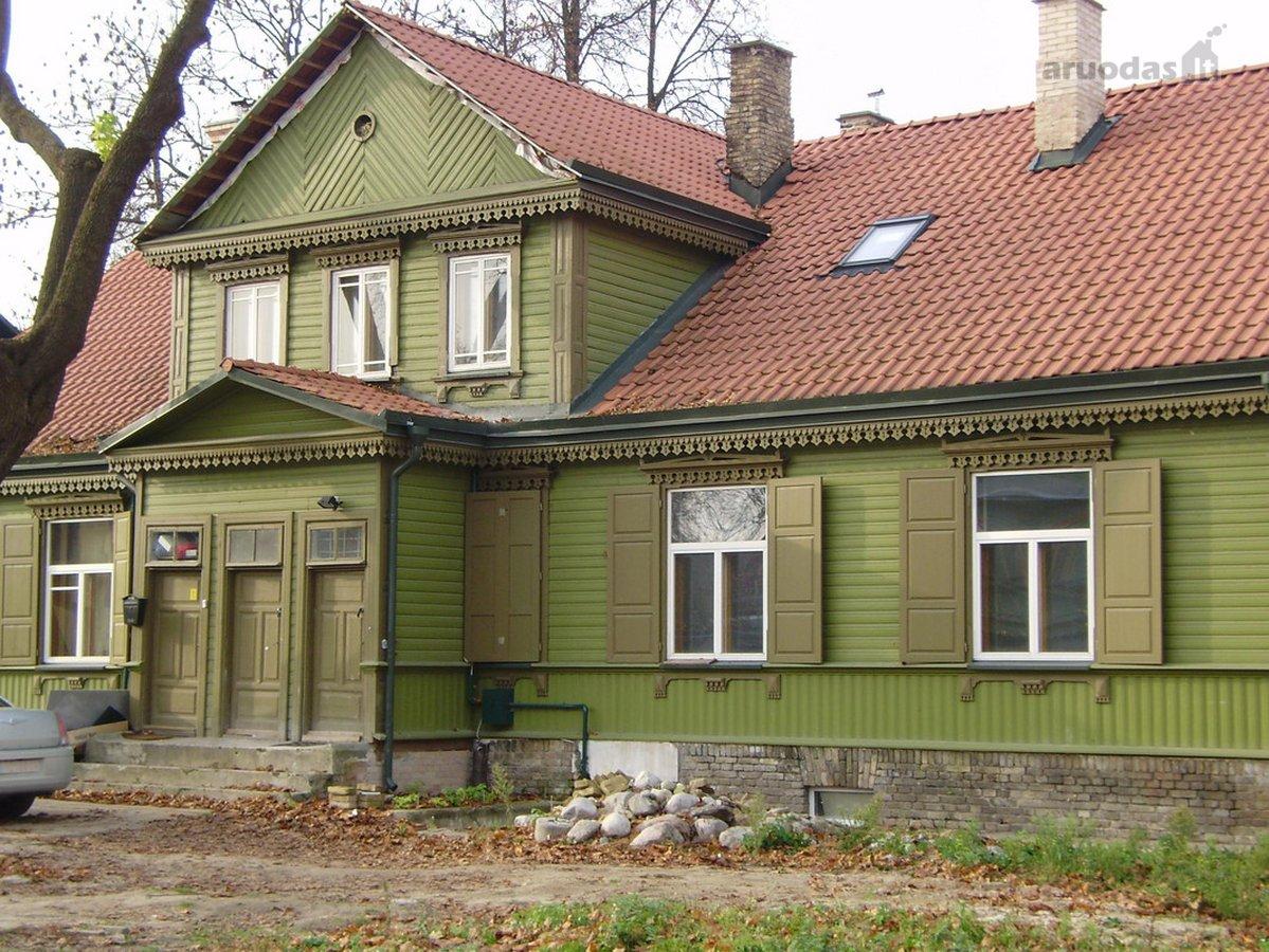 Vilnius, Žvėrynas, Vytauto g., medinis namas