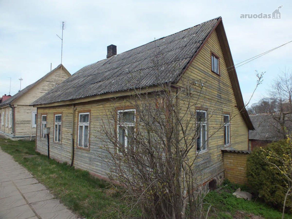 Panevėžio r. sav., Krekenavos mstl., medinis namas