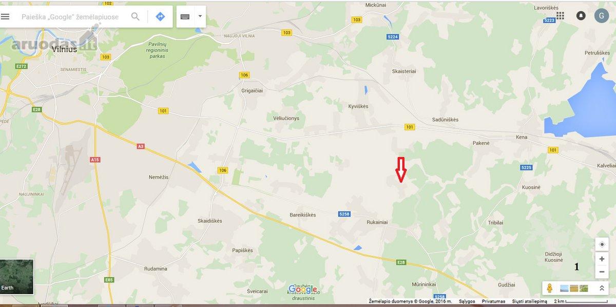 Vilniaus r. sav., Ašmenėlės k., žemės ūkio paskirties sklypas