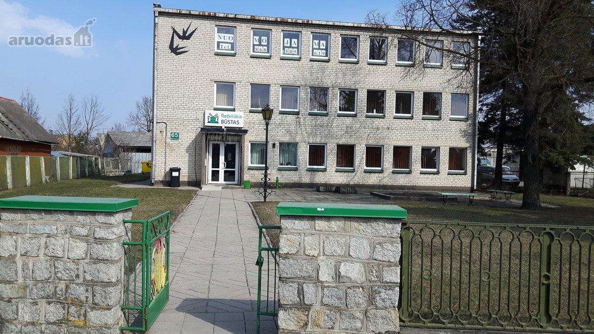 Radviliškio r. sav., Radviliškio m., Maironio g., biuro, paslaugų, sandėliavimo paskirties patalpos