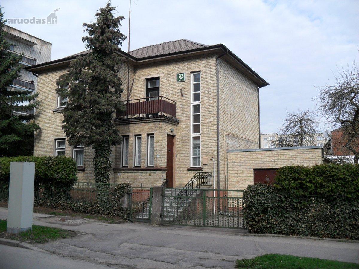 Šiauliai, Centras, Varpo g., mūrinis namas