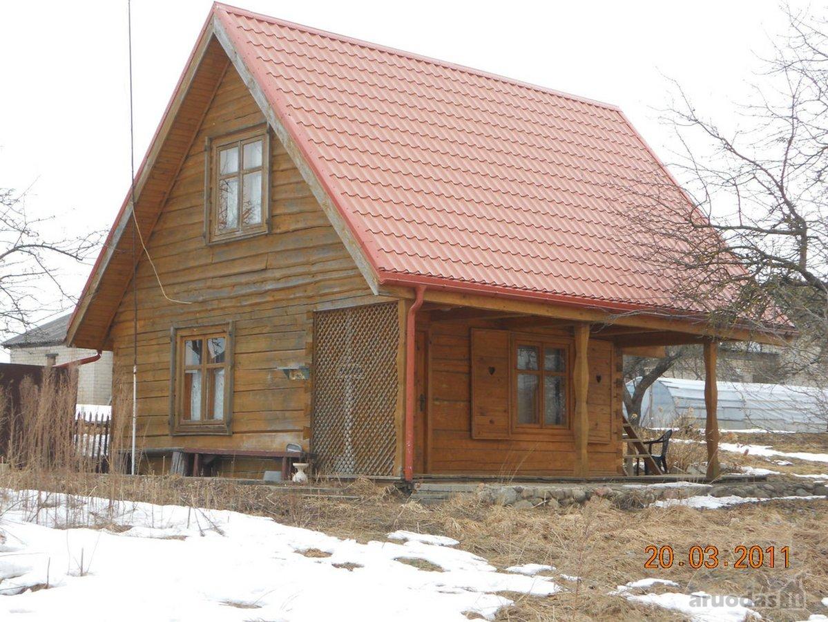 Vilnius, Pašilaičiai, rąstinis namas