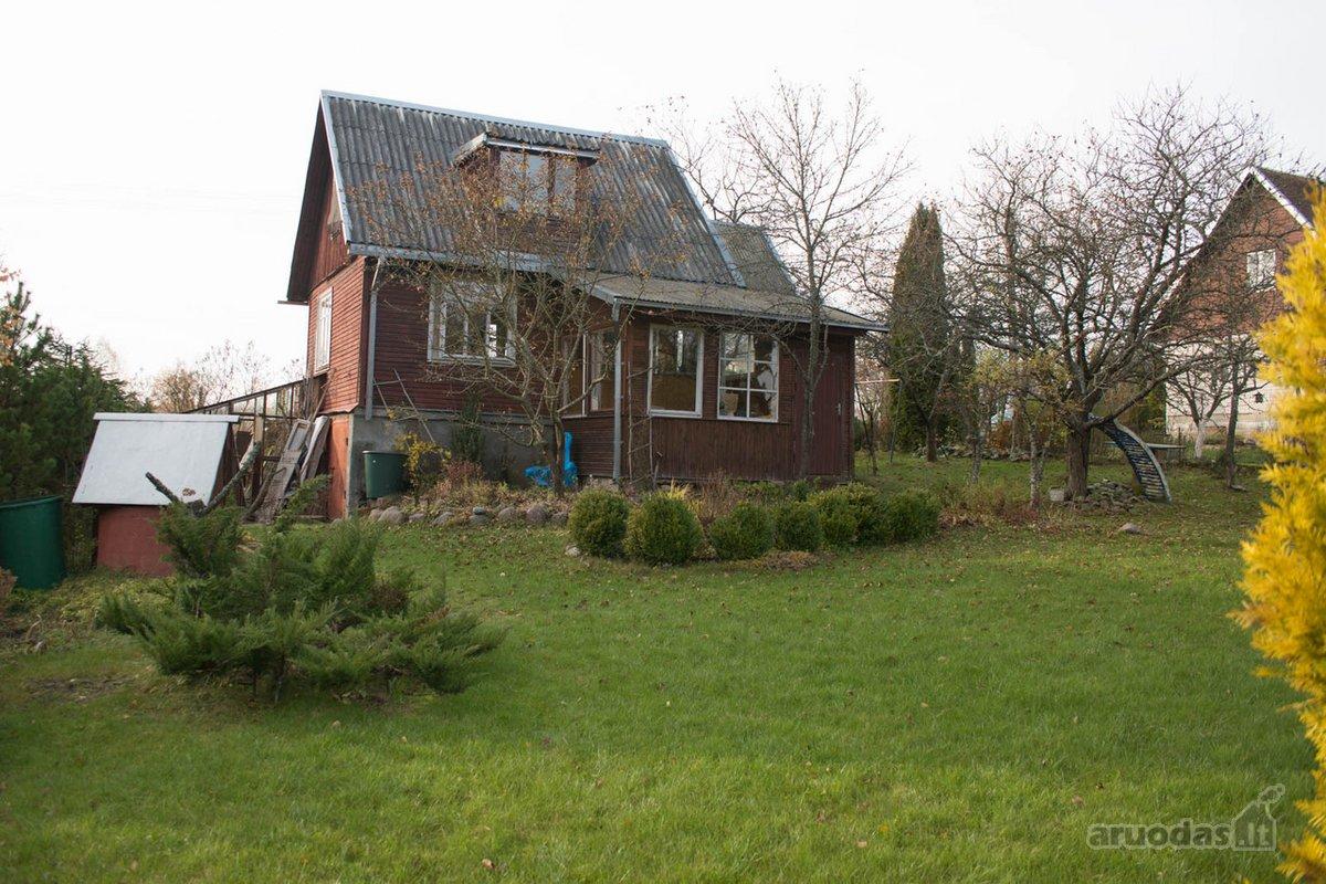 Vilniaus r. sav., Purnuškių k., Purnuškių g., karkasinis sodo namas