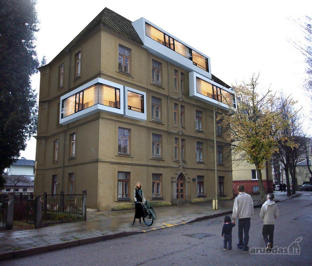 Kaunas, Centras, Trakų g., mūrinis namas
