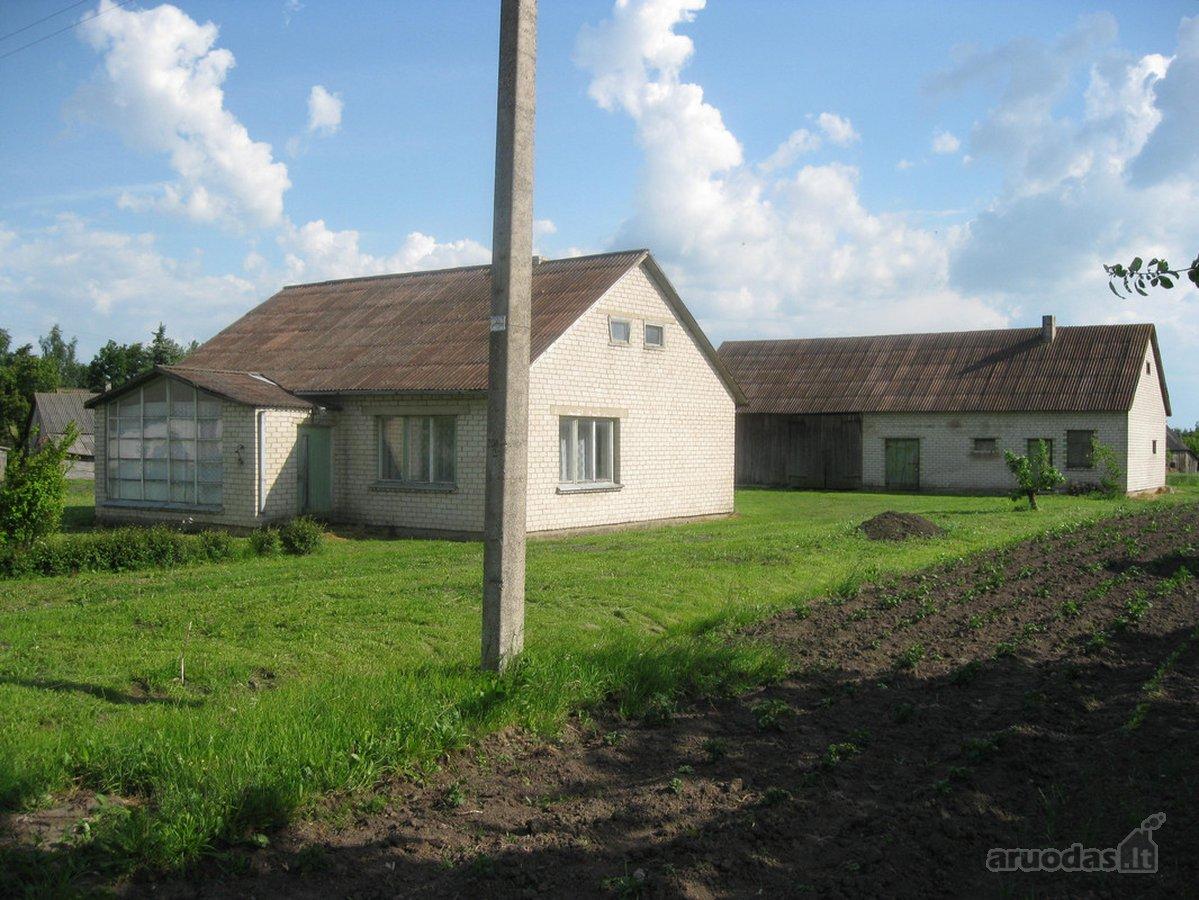 Alytaus r. sav., Krokialaukio mstl., Šiugždų g., mūrinis namas