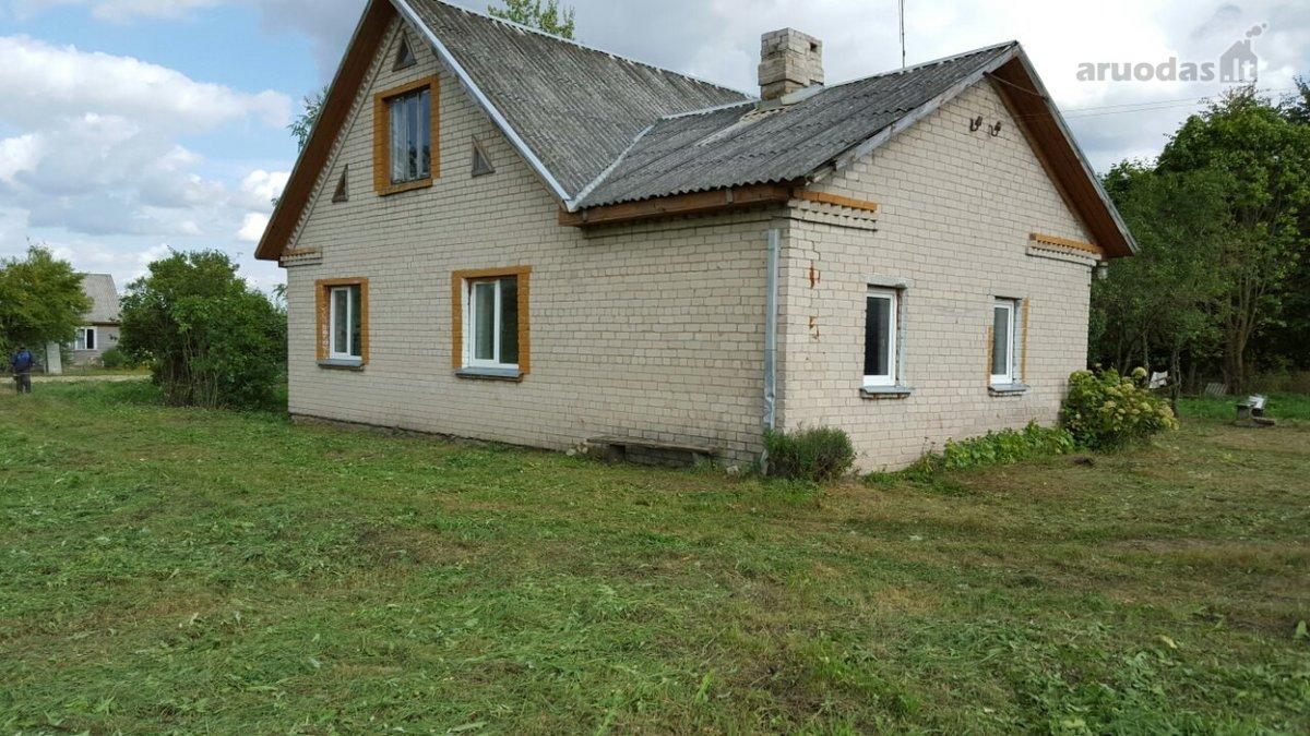 Širvintų r. sav., Levainių k., mūrinis namas