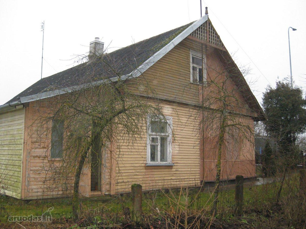 Panevėžio r. sav., Krekenavos mstl., rąstinė namo dalis