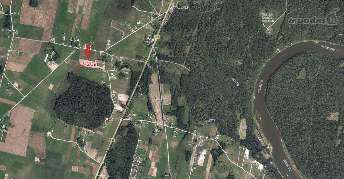 Alytaus r. sav., Jurgiškių k., Ąžuolų g., namų valdos paskirties sklypas