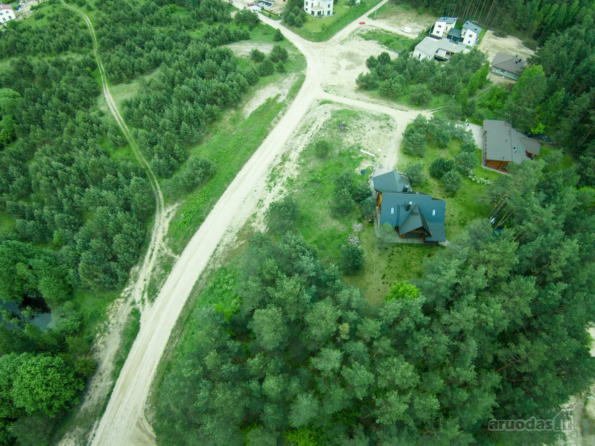 Vilnius, Pilaitė, Salotės g., namų valdos, miškų ūkio paskirties sklypas