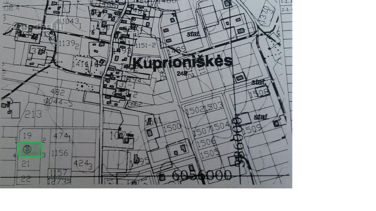 Vilniaus r. sav., Kuprioniškių k., Vyturių g., namų valdos paskirties sklypas