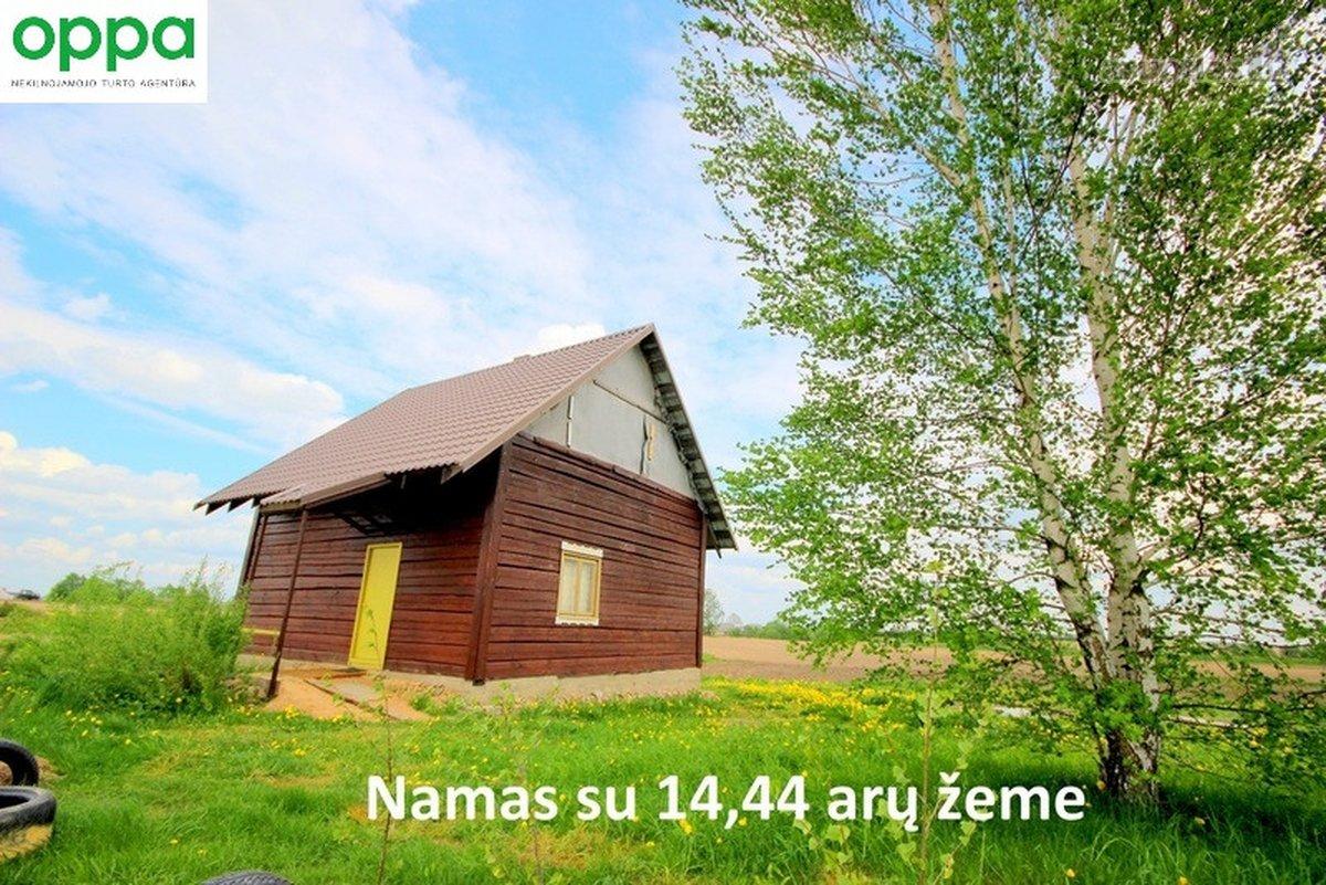 Vilniaus r. sav., Šatrininkų k., Beržų g., rąstinis namas