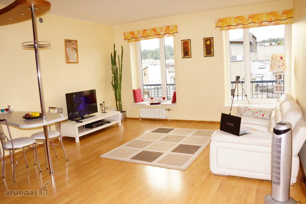 Vilnius, Žvėrynas, Elnių g., 2 kambarių buto nuoma
