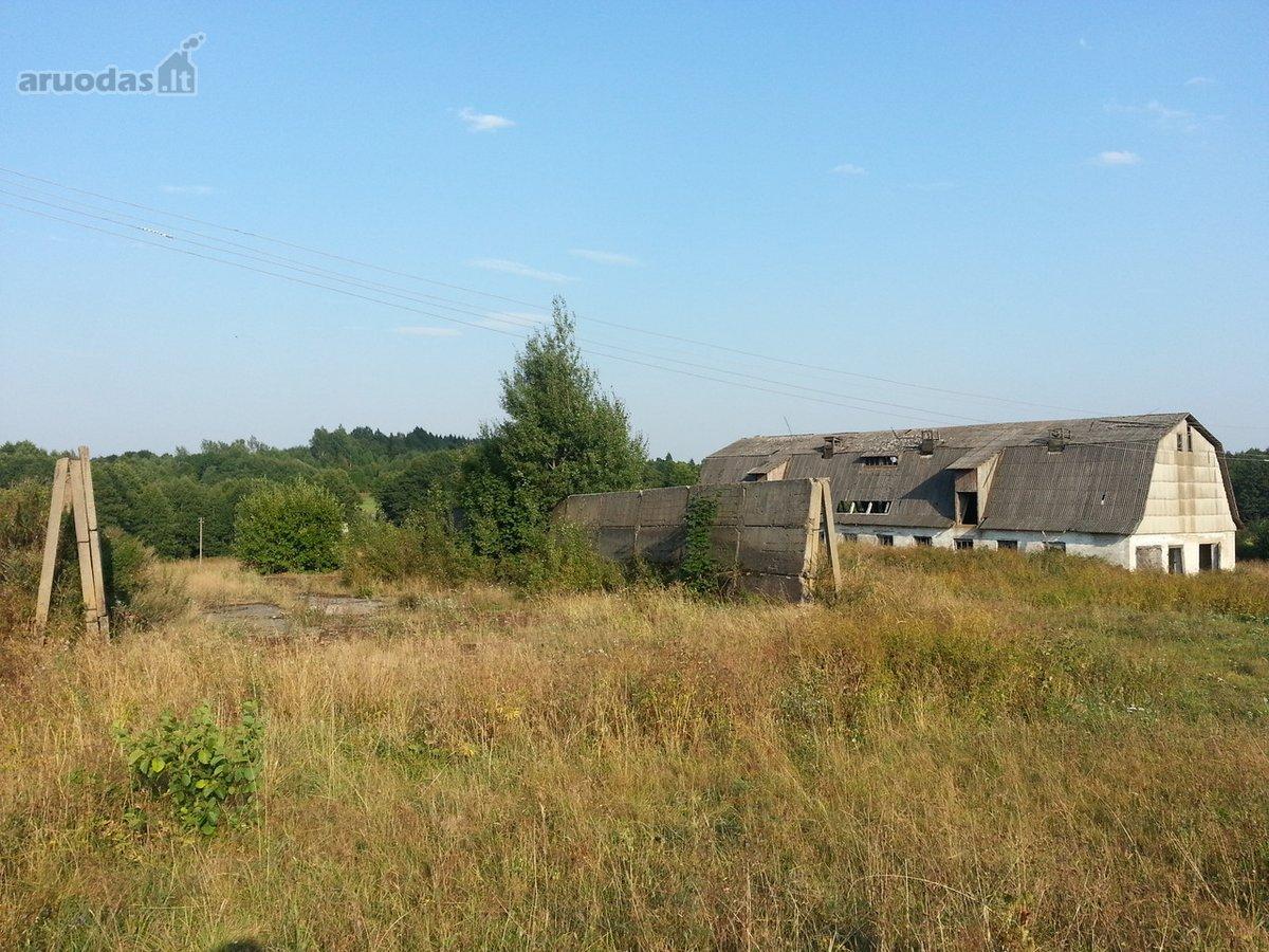 Vilniaus r. sav., Varkalabiškių k., Senasalio g., sandėliavimo, gamybinės paskirties patalpos