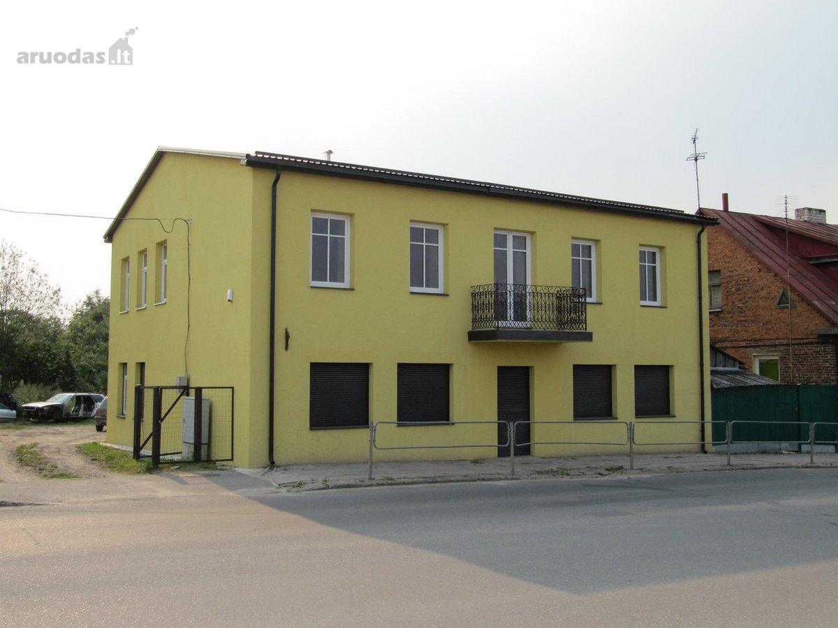 Ukmergės r. sav., Ukmergės m., Vilniaus g., biuro, prekybinės, paslaugų paskirties patalpos nuomai