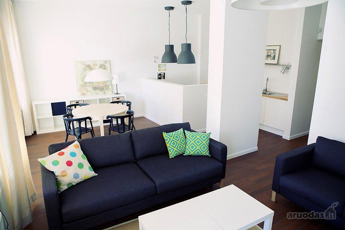 Kaunas, Centras, E. Ožeškienės g., 2 kambarių buto nuoma