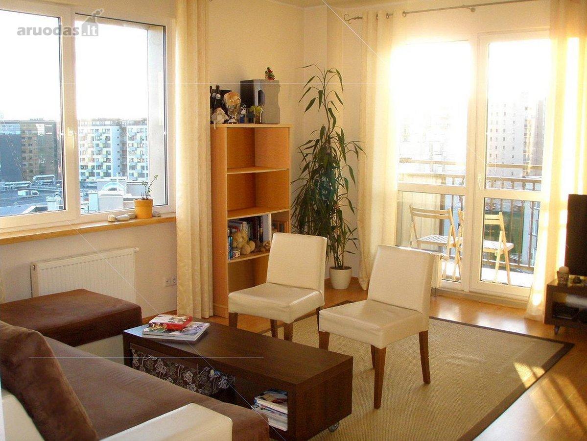 Vilnius, Fabijoniškės, Salomėjos Nėries g., 1 kambario buto nuoma
