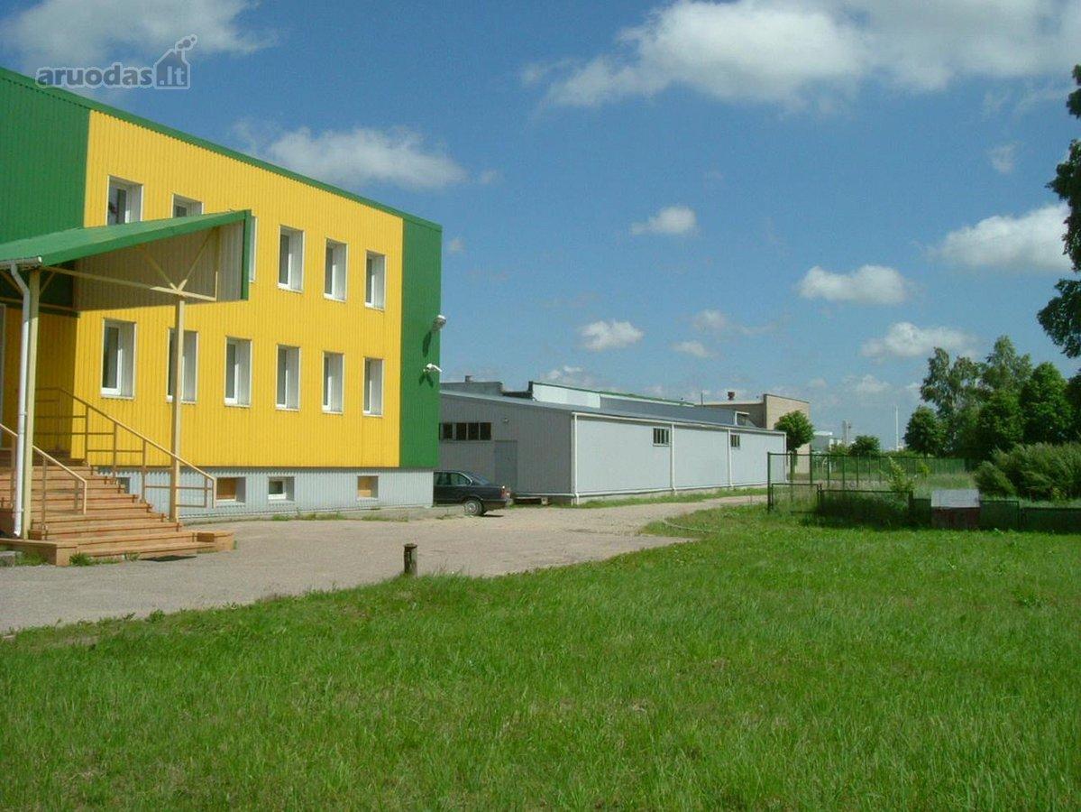 Klaipėdos r. sav., Gargždų m., Statybininkų g., biuro, sandėliavimo, gamybinės, kita paskirties patalpos nuomai