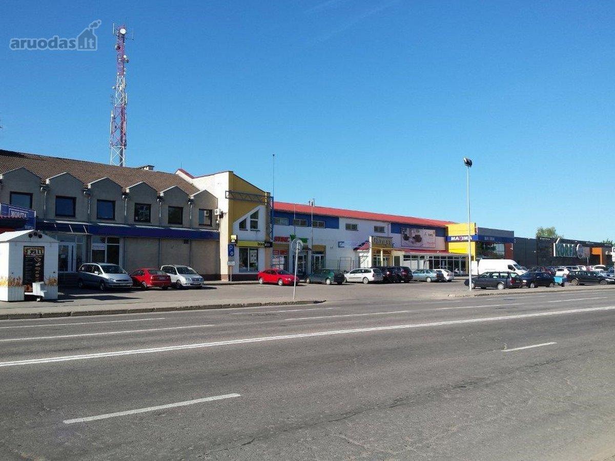 Marijampolės m., Gedimino g., prekybinės, paslaugų, sandėliavimo, gamybinės, maitinimo paskirties patalpos nuomai