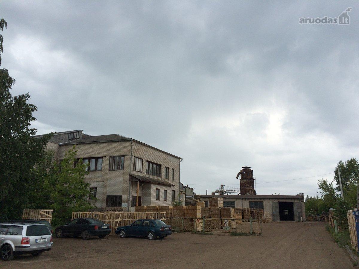 Radviliškio m., Purienų g., prekybinės, sandėliavimo, gamybinės paskirties patalpos