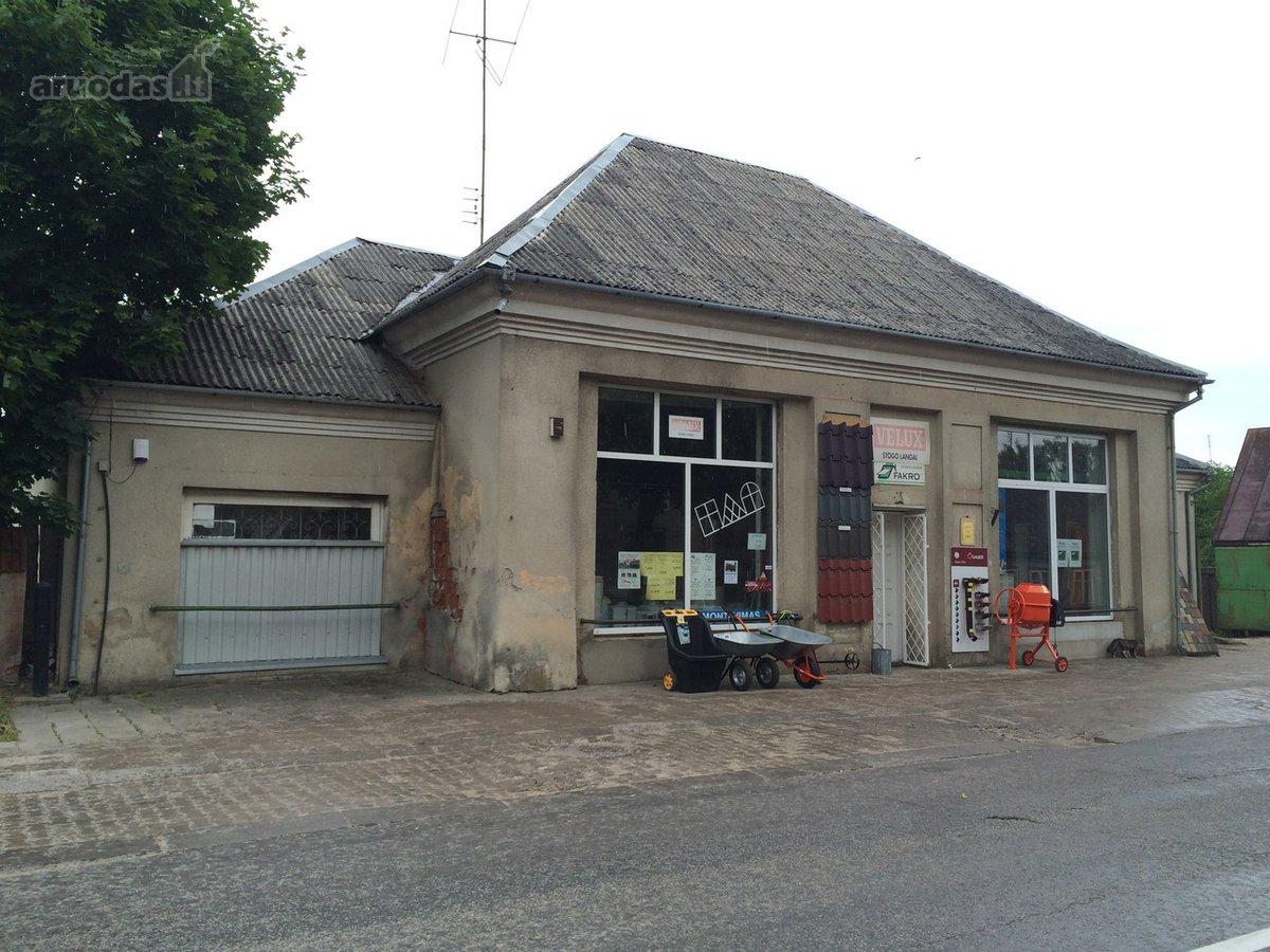 Radviliškio m., Maironio g., prekybinės, paslaugų, sandėliavimo, kita paskirties patalpos