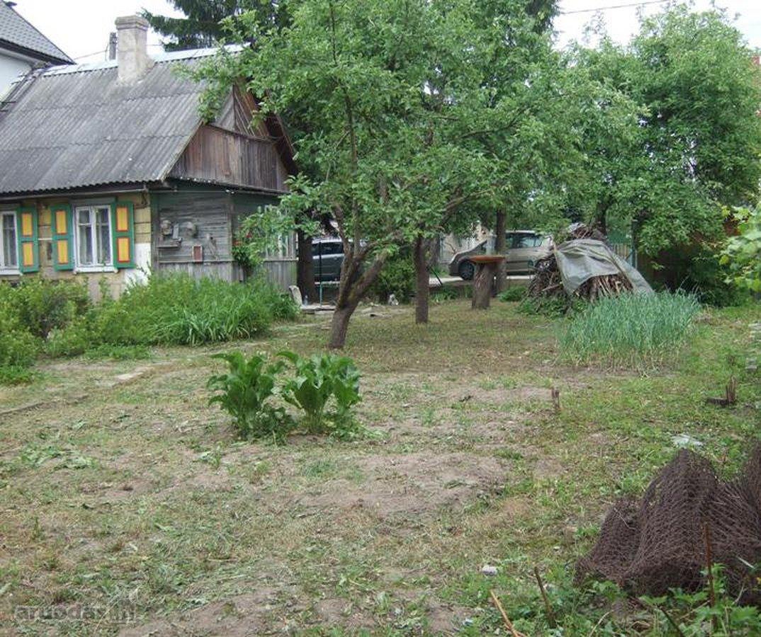 Vilnius, Šnipiškės, Kernavės g., rąstinis namas
