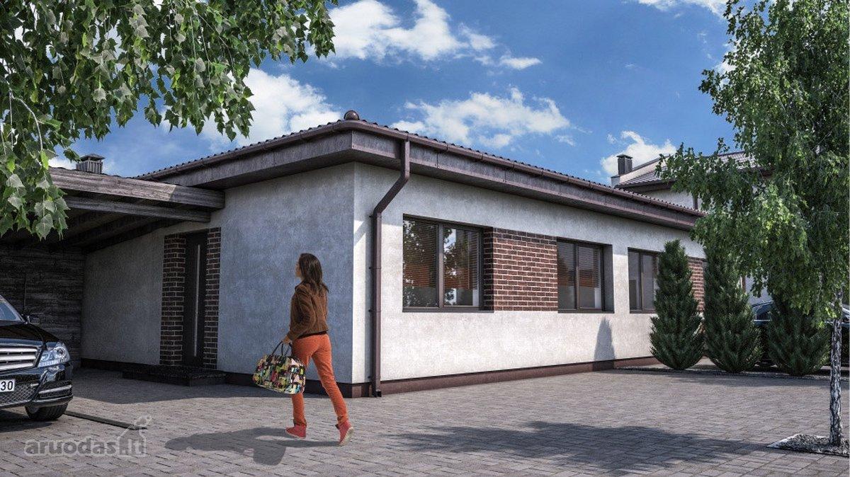 Kaunas, Aleksotas, mūrinis sublokuotas namas