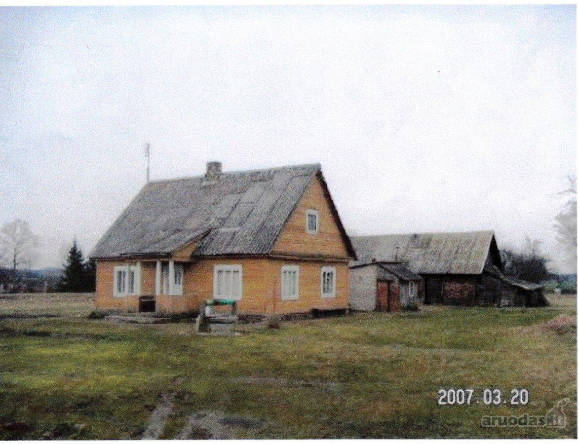 Ukmergės r. sav., Valtūnų k., Malūno g., rąstinis namas
