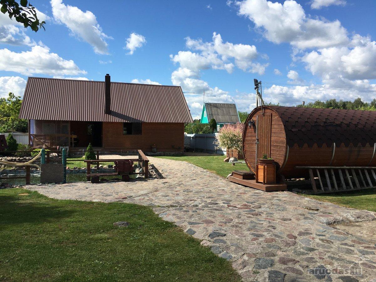 Marijampolės sav., Obelinės k., Strazdų g., medinė sodyba