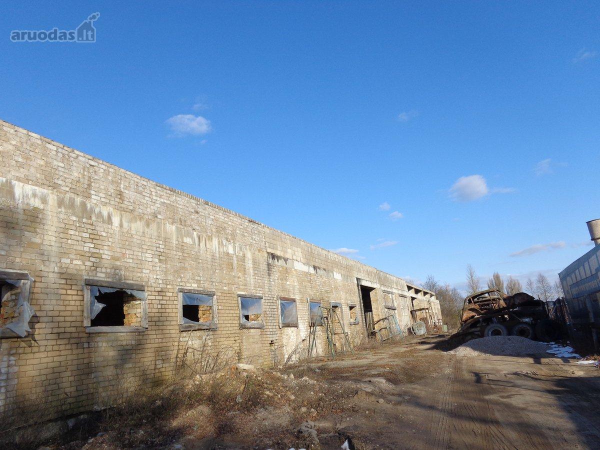 Vilnius, Trakų Vokė, Guobų g., sandėliavimo, gamybinės paskirties patalpos