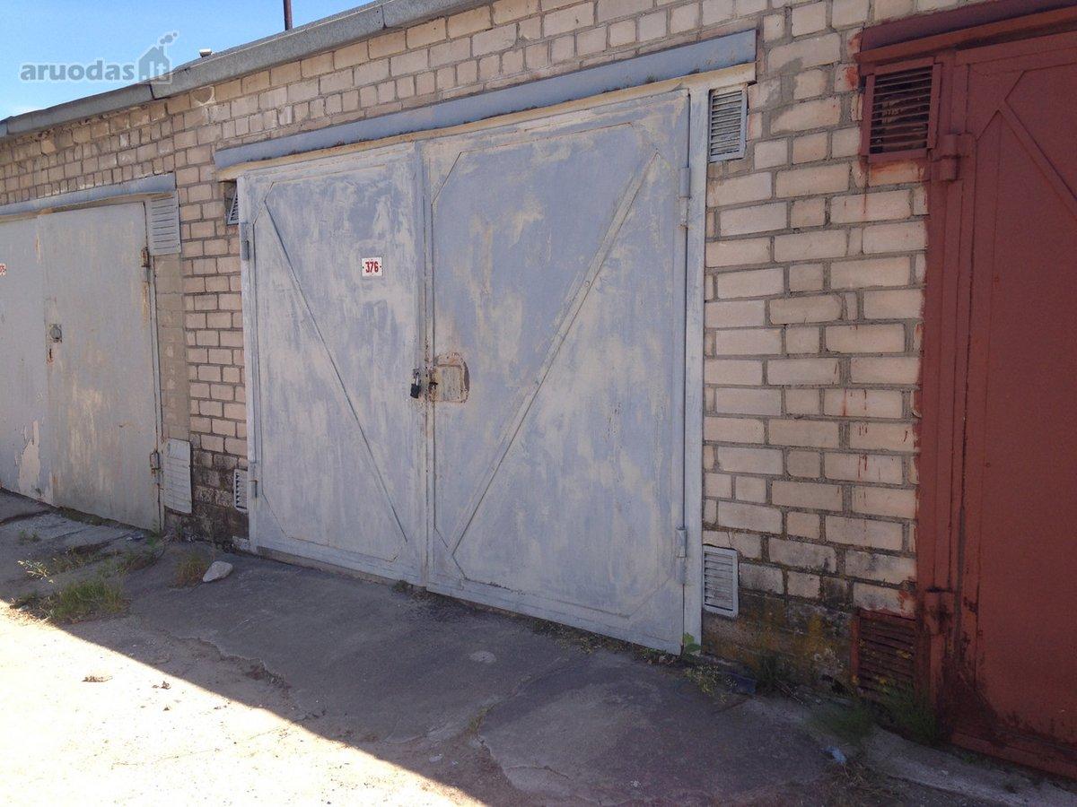 Elektrėnų m., Elektrinės g., mūrinis garažas