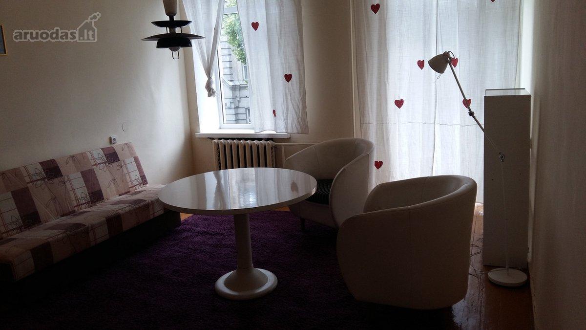 Vilnius, Senamiestis, V. Šopeno g., 2 kambarių buto nuoma