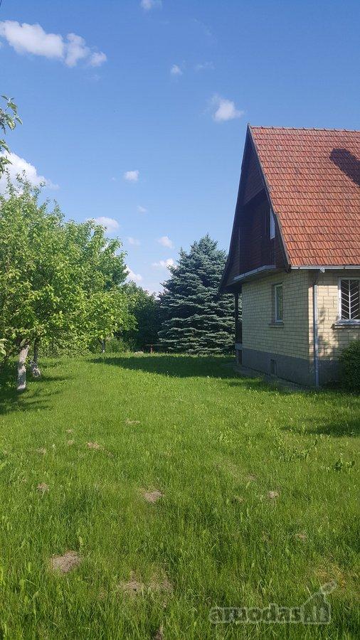 Vilkaviškio r. sav., Būdežerių k., mūrinis sodo namas
