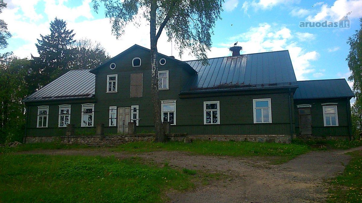 Telšių r. sav., Žarėnų mstl., karkasinis namas