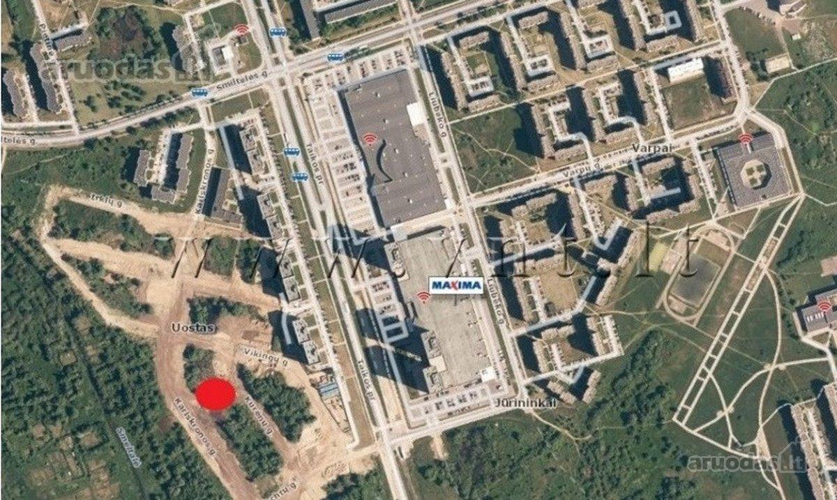 Klaipėda, Alksnynė, Taikos pr., namų valdos paskirties sklypas
