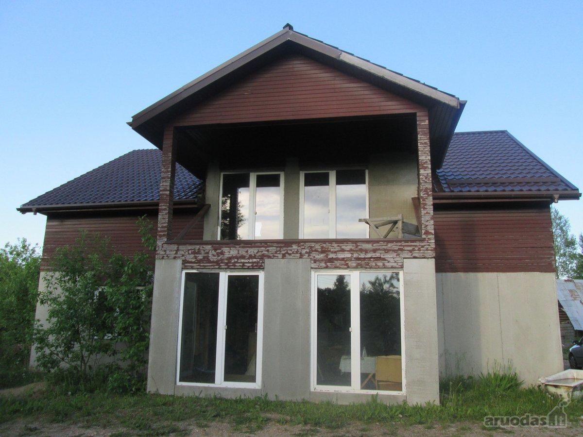 Elektrėnų sav., Būriškių k., karkasinis namas