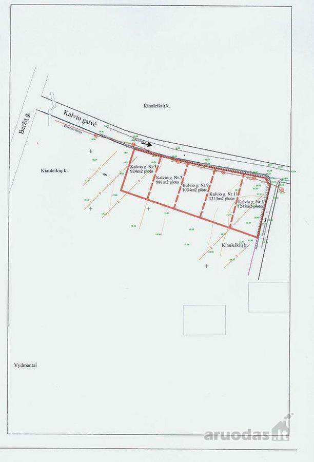 Kretingos r. sav., Kiauleikių k., namų valdos, gyvenamosios statybos paskirties sklypas