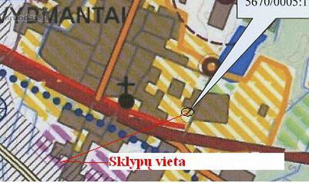 Kretingos r. sav., Vydmantų k., Žibalės g., residential purpose vacant land