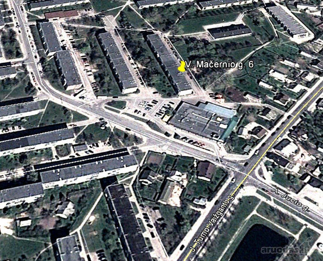 Plungės m., V. Mačernio g., 3 kambarių butas