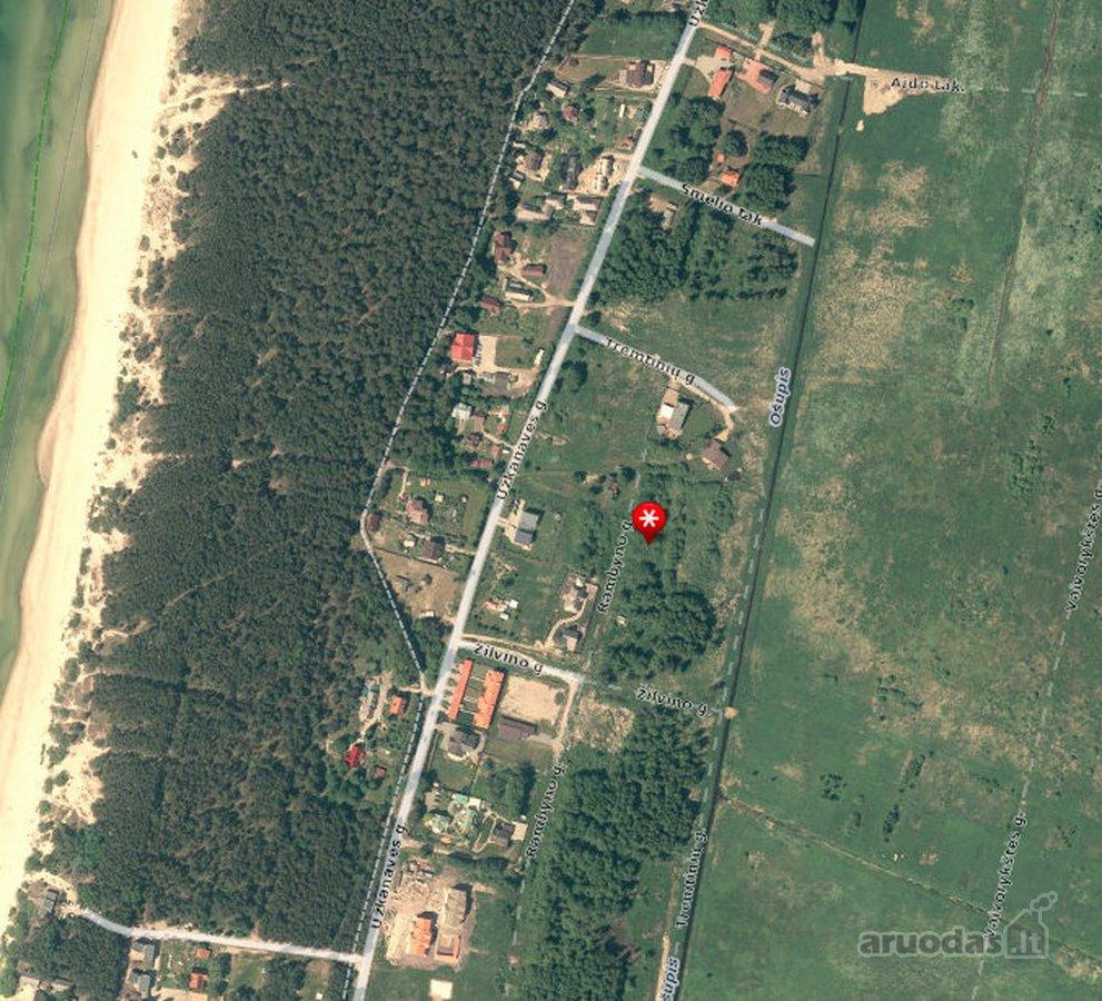 Palanga, Rambyno g., namų valdos paskirties sklypas