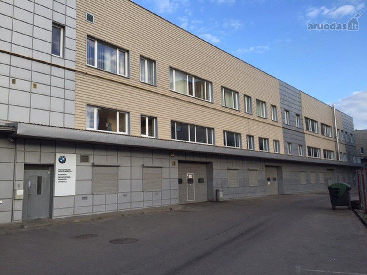 Vilnius, Vilkpėdė, Savanorių pr., sandėliavimo, gamybinės paskirties patalpos nuomai