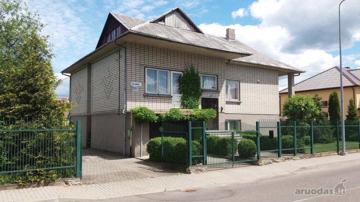 Telšių m., Palangos g., mūrinis namas