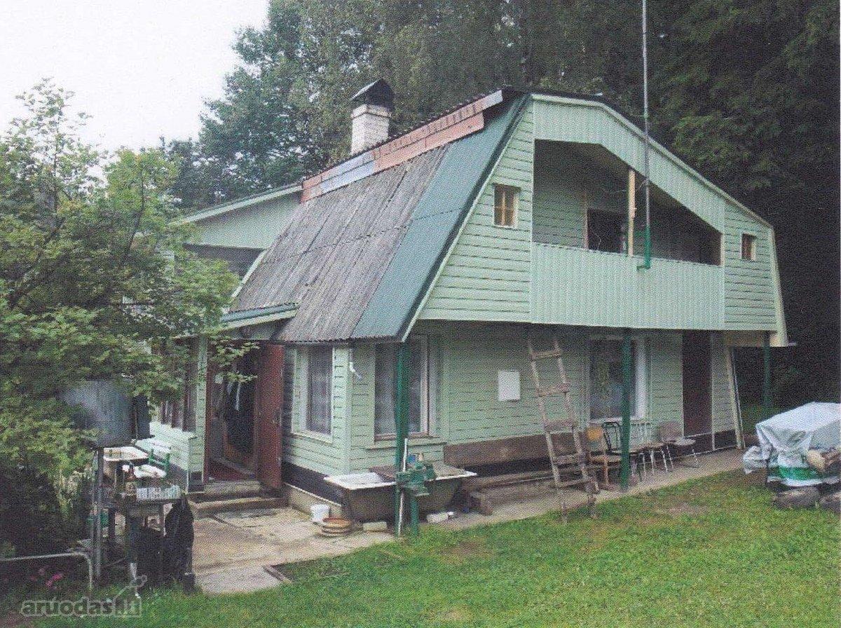 Vilniaus r. sav., Akmeniškių k., Neringos 1-oji g., medinis sodo namas