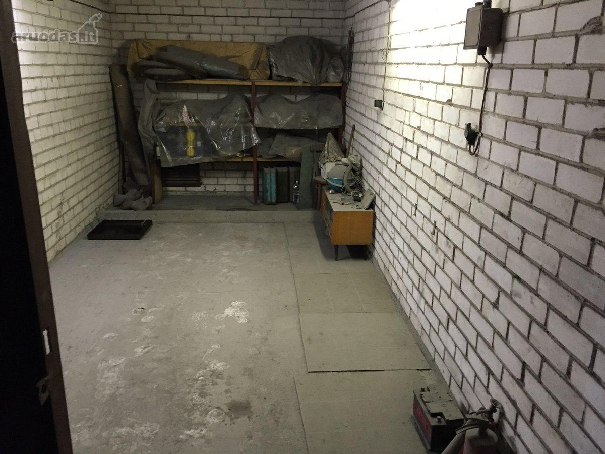 Kaunas, Dainava, Draugystės g., daugiaaukštis garažas