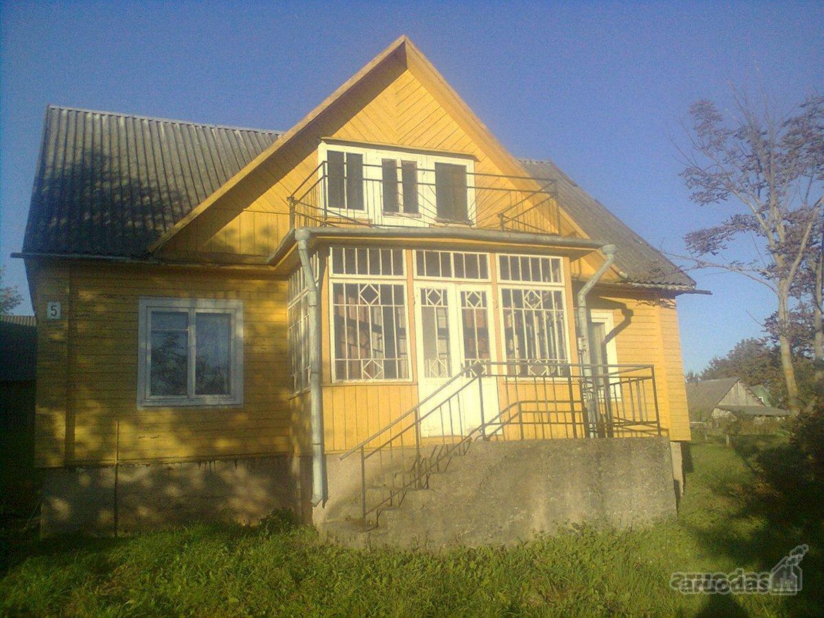 Švenčionių r. sav., Adutiškio mstl., Švenčionių g., medinė sodyba