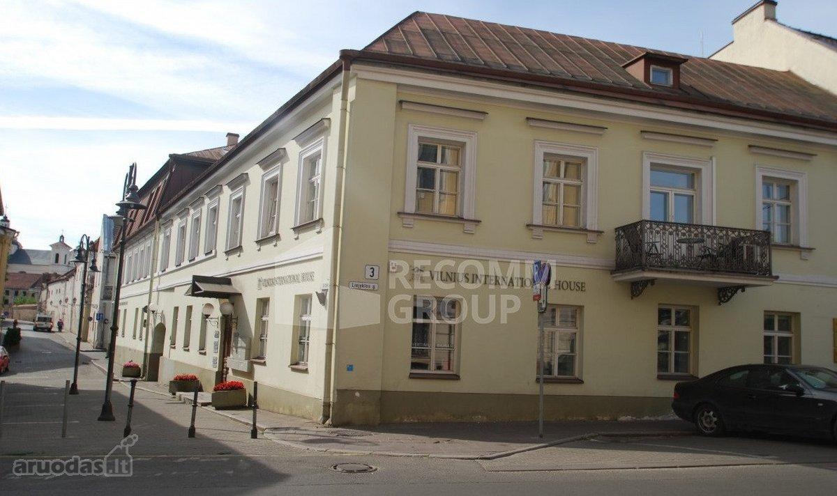 Vilnius, Senamiestis, Liejyklos g., biuro, kita paskirties patalpos nuomai