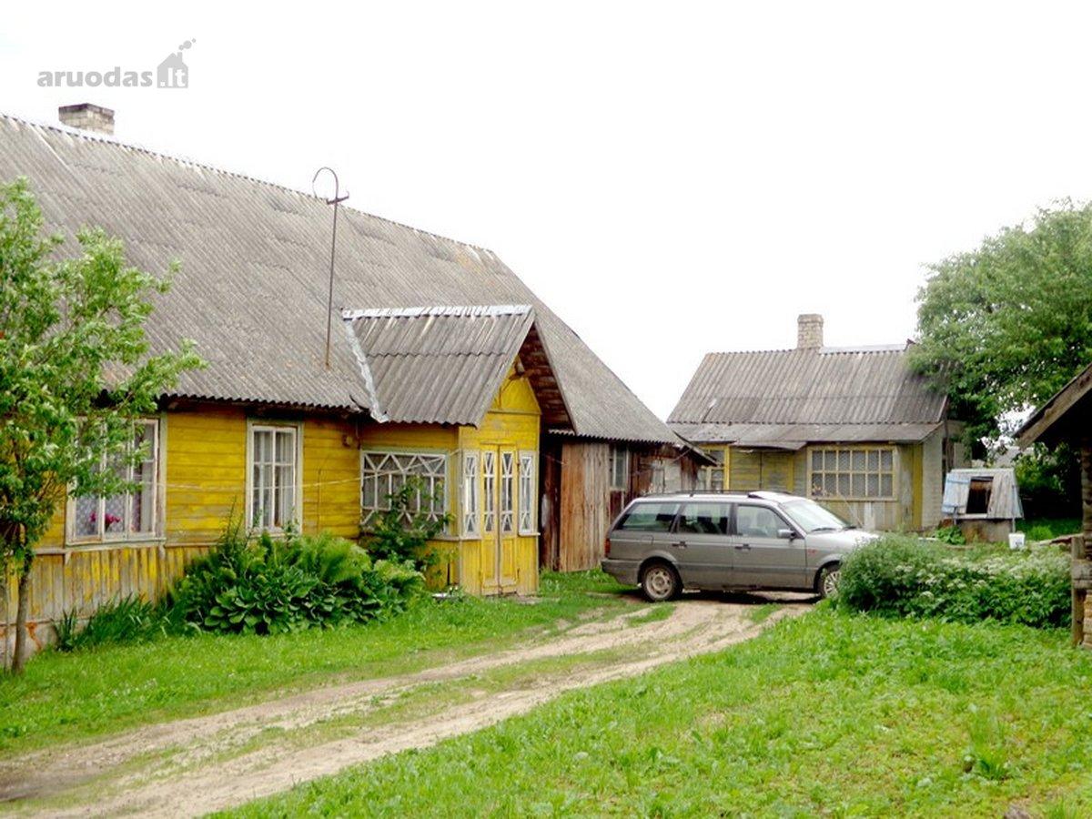 Vilniaus r. sav., Karklėnų k., Upelio g., rąstinė sodyba