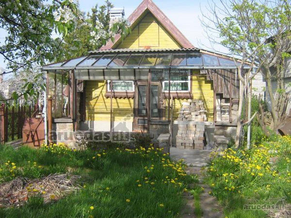 Kretingos r. sav., Kretingos m., mūrinis sodo namas