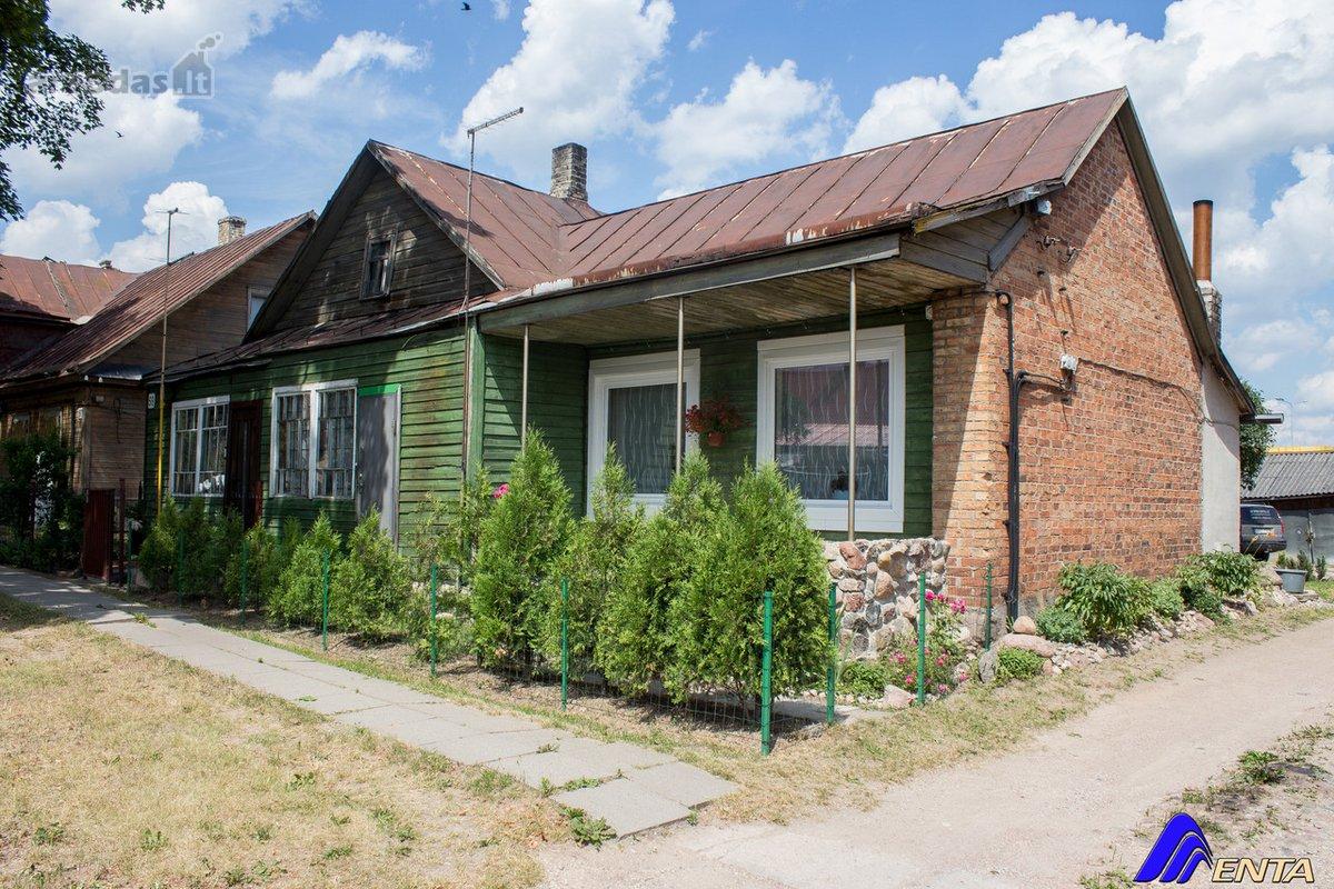 Elektrėnų sav., Vievio m., Vilniaus g., rąstinė namo dalis