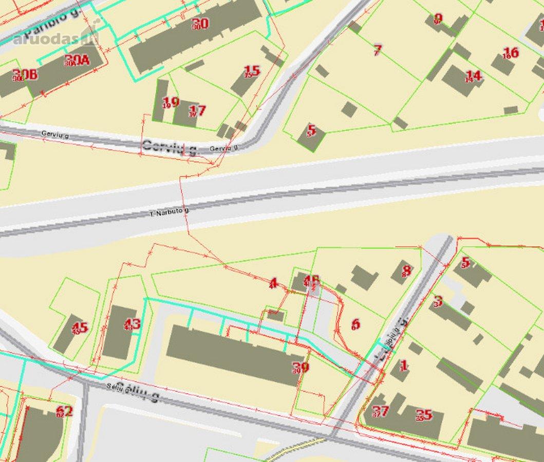 Vilnius, Žvėrynas, Lūšių g., namų valdos paskirties sklypas